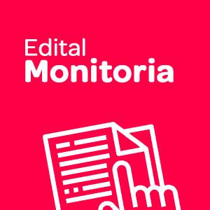 Inscrições para acadêmicos de Graduação, no Programa de Monitoria 2021.1